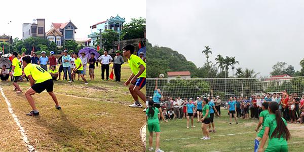 Phát triển thể thao ở Giao Thủy