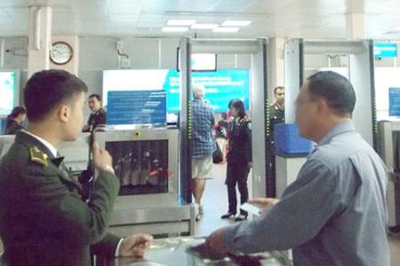 Trực Ninh: Nghi can cướp tài sản bị bắt khi dùng giấy tờ giả đi máy bay