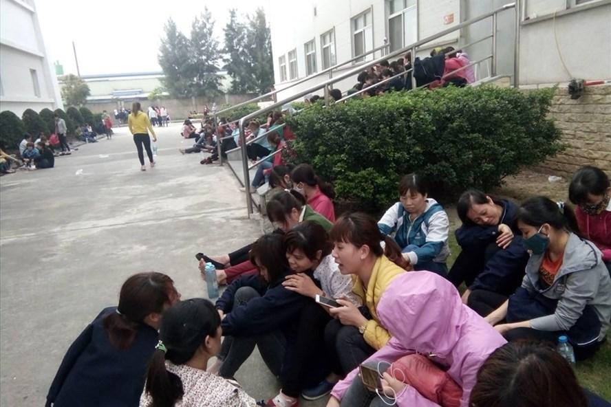 Vụ 4.000 công nhân ngừng việc tại Nam Định: Khoảng 70 công nhân viết đơn xin nghỉ việc