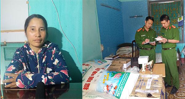 Hơn 2 tấn mì chính giả hàng hiệu bị tóm ở Nam Định