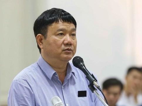 Ông Đinh La Thăng kháng cáo bản án sơ thẩm thứ hai