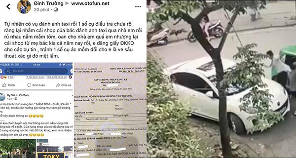 Bị ném mắm tôm oan sau vụ tài xế người Nam Định bị đánh