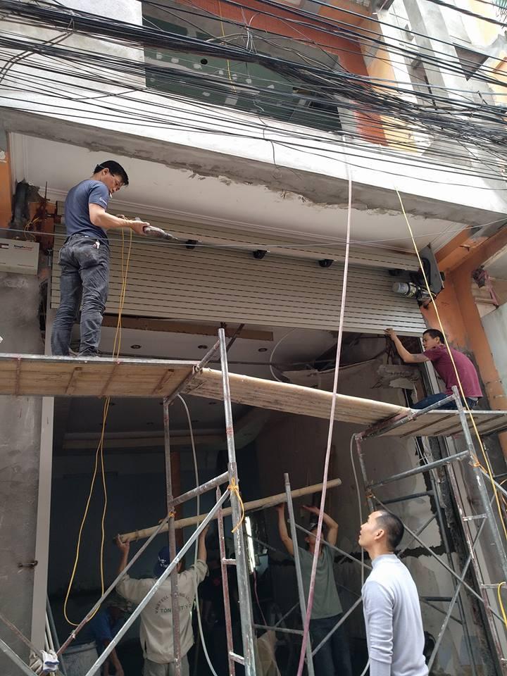 Sửa chữa cửa cuốn tại Nam Định giá rẻ uy tín chất lượng