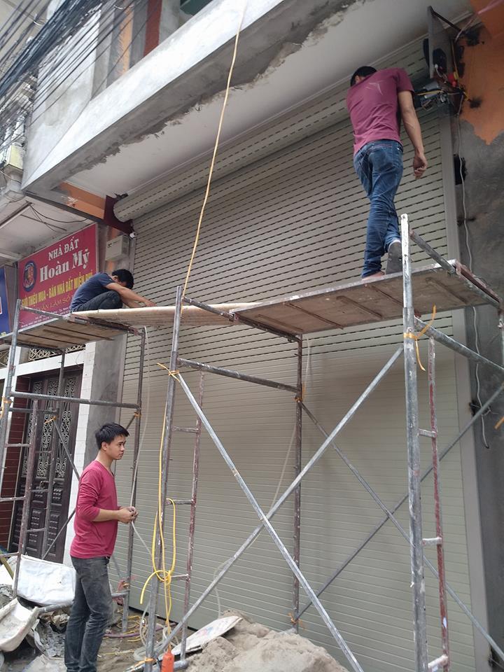 Sửa chữa cửa cuốn tại Nam Định phục vụ mọi lúc, mọi nơi