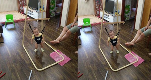 Chàng trai 8X Nam Định khởi nghiệp với xích đu nhún nhảy cho trẻ em