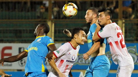 Trực tiếp V.League 2018 vòng 21: Nam Định FC – Sanna Khánh Hòa BVN