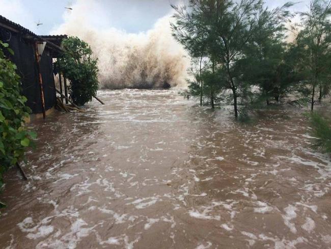 Nam Định sơ tán dân ven biển trong ngày Chủ nhật