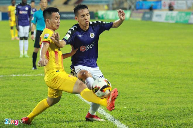 CLB Nam Định mất hai trụ cột ở vòng 21 V.League