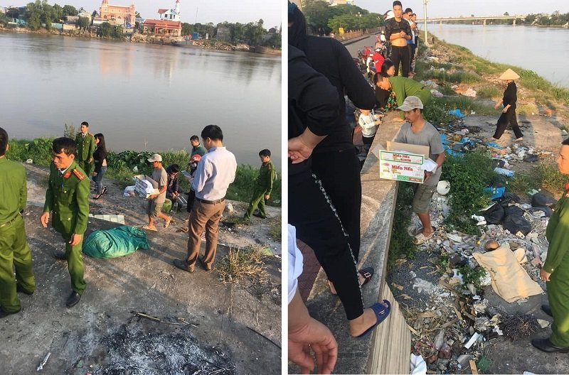 Nam Định: Phát hiện thi thể bé sơ sinh gần cầu Đò Quan, nghi bị mẹ vứt bỏ