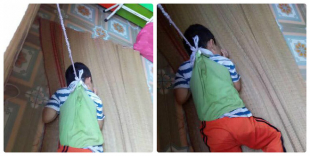 Cháu bé 4 tuổi bị buộc vào cửa sổ ở Nam Định sẽ được hưởng chế độ ưu tiên