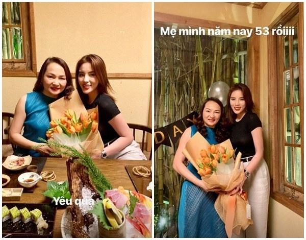"""Hoa hậu Kỳ Duyên khoe ảnh mẹ trẻ đẹp như chị gái khiến cư dân mạng """"phát hờn"""""""