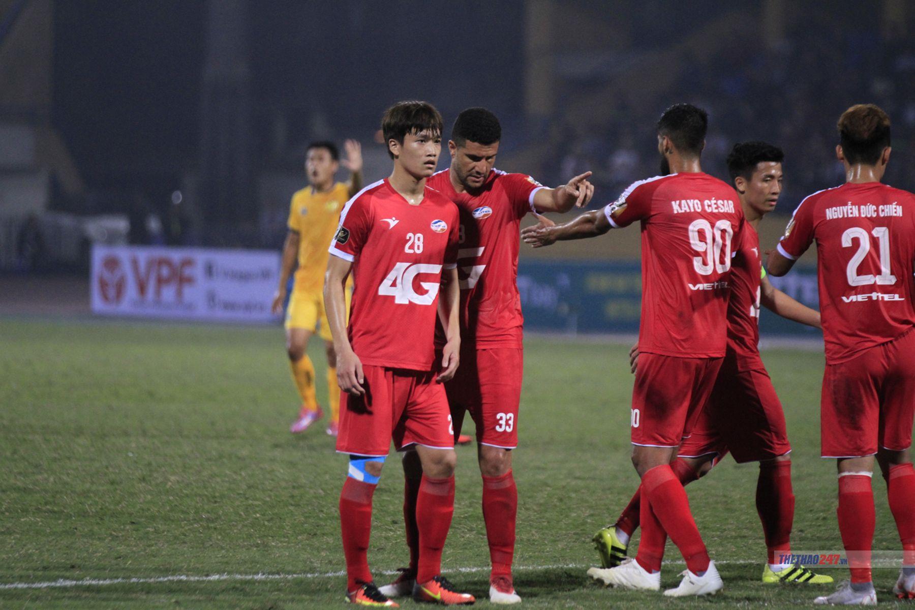 Trực tiếp Viettel vs Nam Định, 19h00 hôm nay