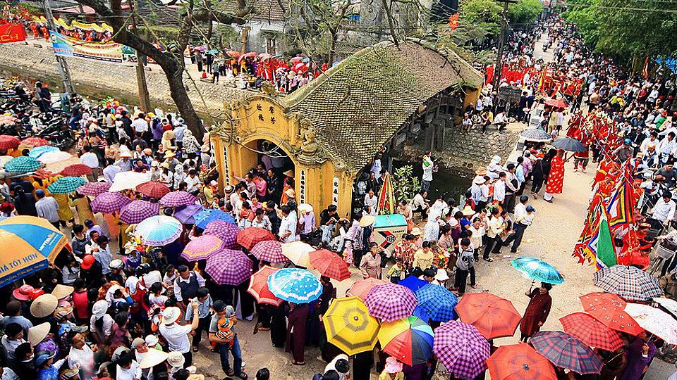 Nam Định: Đặc sắc Lễ hội Chùa Lương