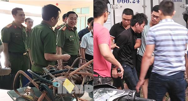Bắt 'nóng' thợ cơ khí cắt trộm dây trung tính của 13 trạm biến áp tại Nam Định