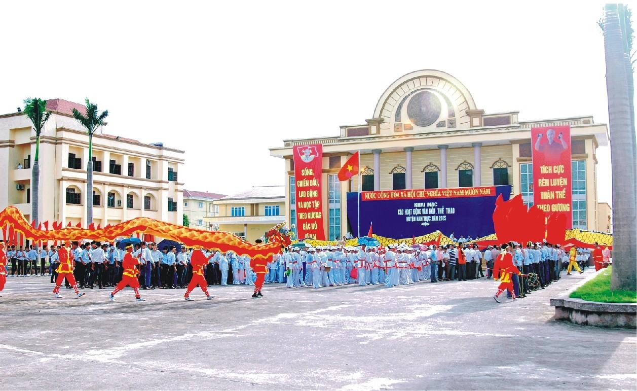 Huyện Nam Trực, tỉnh Nam Định đạt chuẩn nông thôn mới