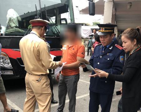 Phát hiện lái xe tuyến Nam Định-Hà Nội dương tính ma túy