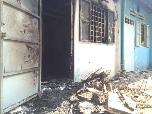 Cháy nhà trọ 5 tầng lúc rạng sáng, một nữ sinh Nam Định tử vong
