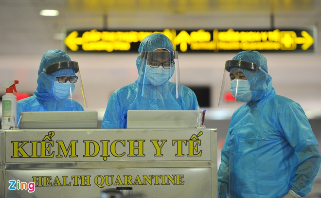 TP.HCM xét nghiệm Covid-19 bắt buộc tại sân bay Tân Sơn Nhất