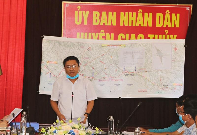 Dự kiến lễ khởi công tuyến đường bộ ven biển vào ngày 18/9/2020 thuộc địa phận xã Giao An, huyện Giao Thuỷ -Nam Định