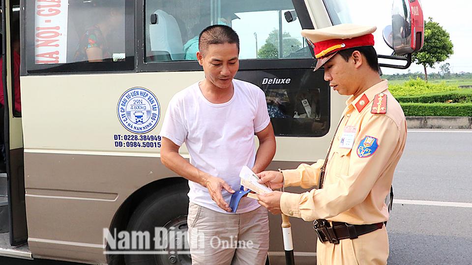 Nam Định Đảm bảo trật tự, an toàn giao thông dịp nghỉ Lễ Quốc khánh và khai giảng năm học mới