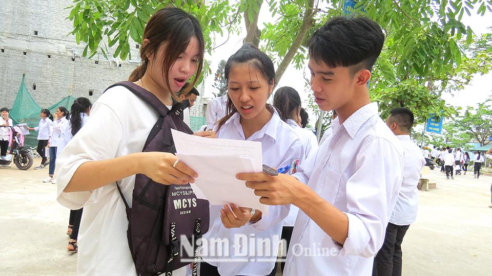 Nam Định Ban hành khung kế hoạch thời gian năm học 2020-2021 trên địa bàn tỉnh
