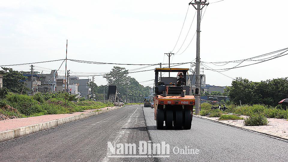 Thành phố Nam Định đầu tư xây dựng hạ tầng đô thị theo hướng văn minh, hiện đại