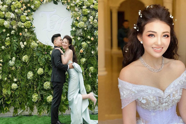 """""""Cô dâu 200 cây vàng"""" được chồng tổ chức tiệc 20/10 tại biệt phủ, dân mạng choáng ngợp độ xa xỉ"""