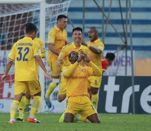 Lịch sử ủng hộ Nam Định ở trận đấu gặp với SLNA