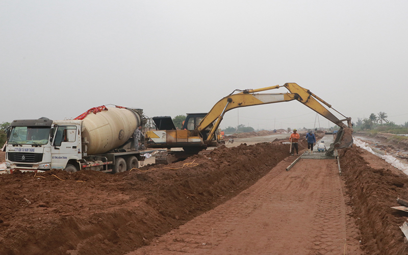 Nam Định tập trung xây dựng các công trình trọng điểm