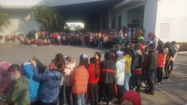 Hàng nghìn công nhân Công ty Smart Shirts tại Nam Định trở lại làm việc