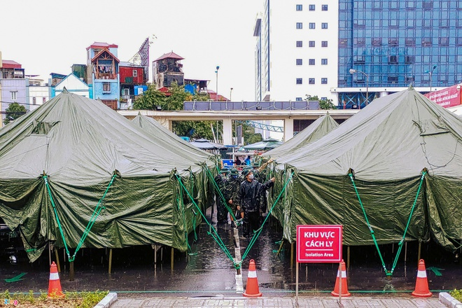 Hà Nội ghi nhận thêm bệnh nhân nhiễm SARS-CoV-2 ở quận Ba Đình