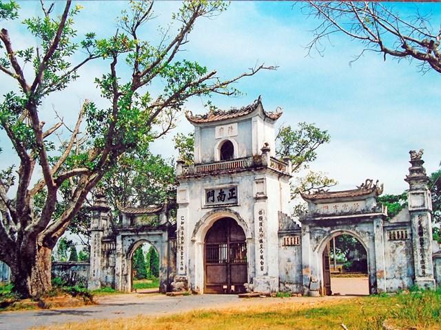 Hành cung Thiên Trường thời Trần: Dấu xưa còn lại