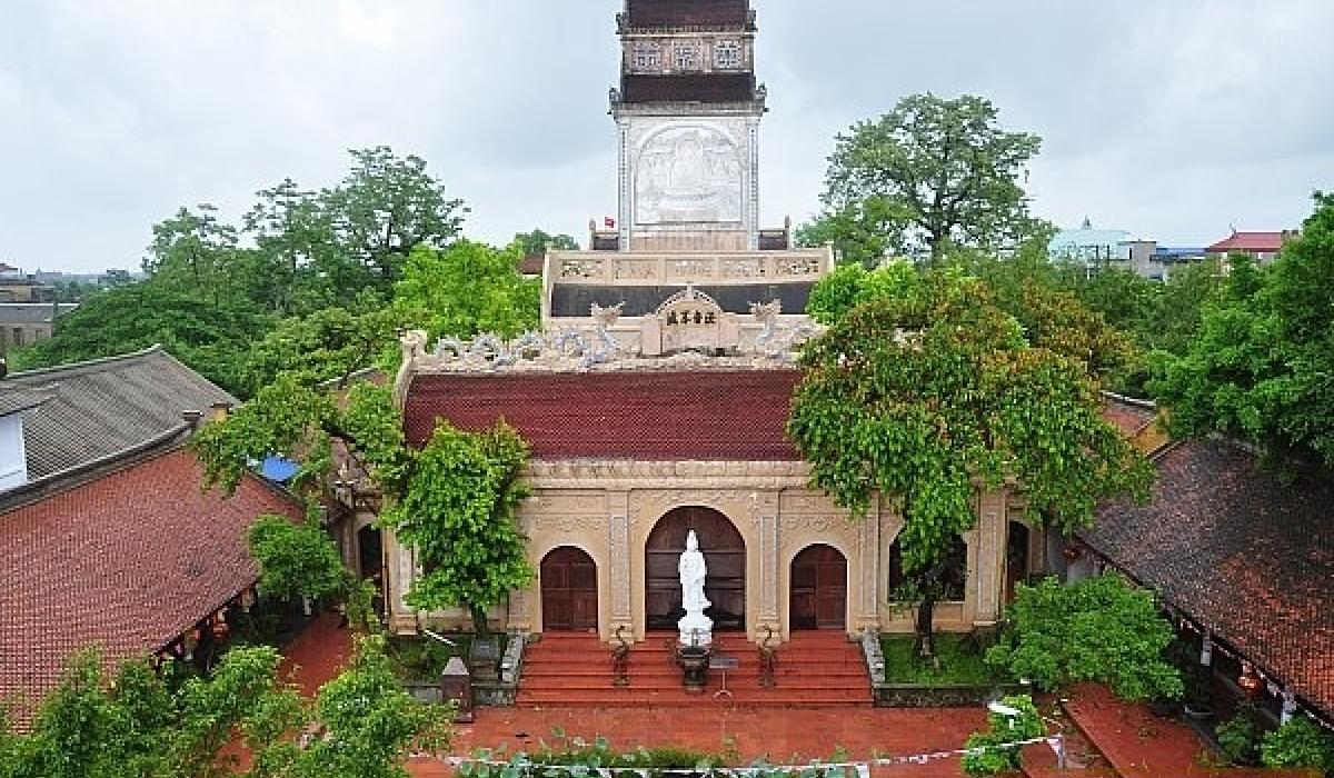 Chùa Cổ Lễ – điểm đến cho những người thích khám phá kiến trúc Đạo Phật