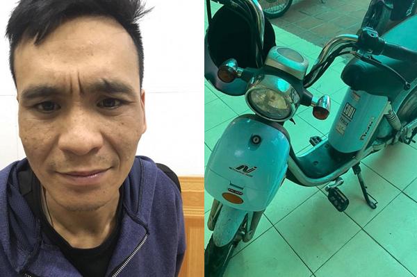 Bắt tận tay kẻ trộm xe đạp điện