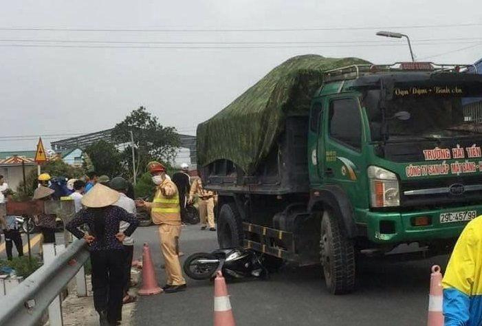 Gặp tai nạn trên đường đi đo kính mắt, nữ sinh Nam Định tử vong, cô giáo nguy kịch