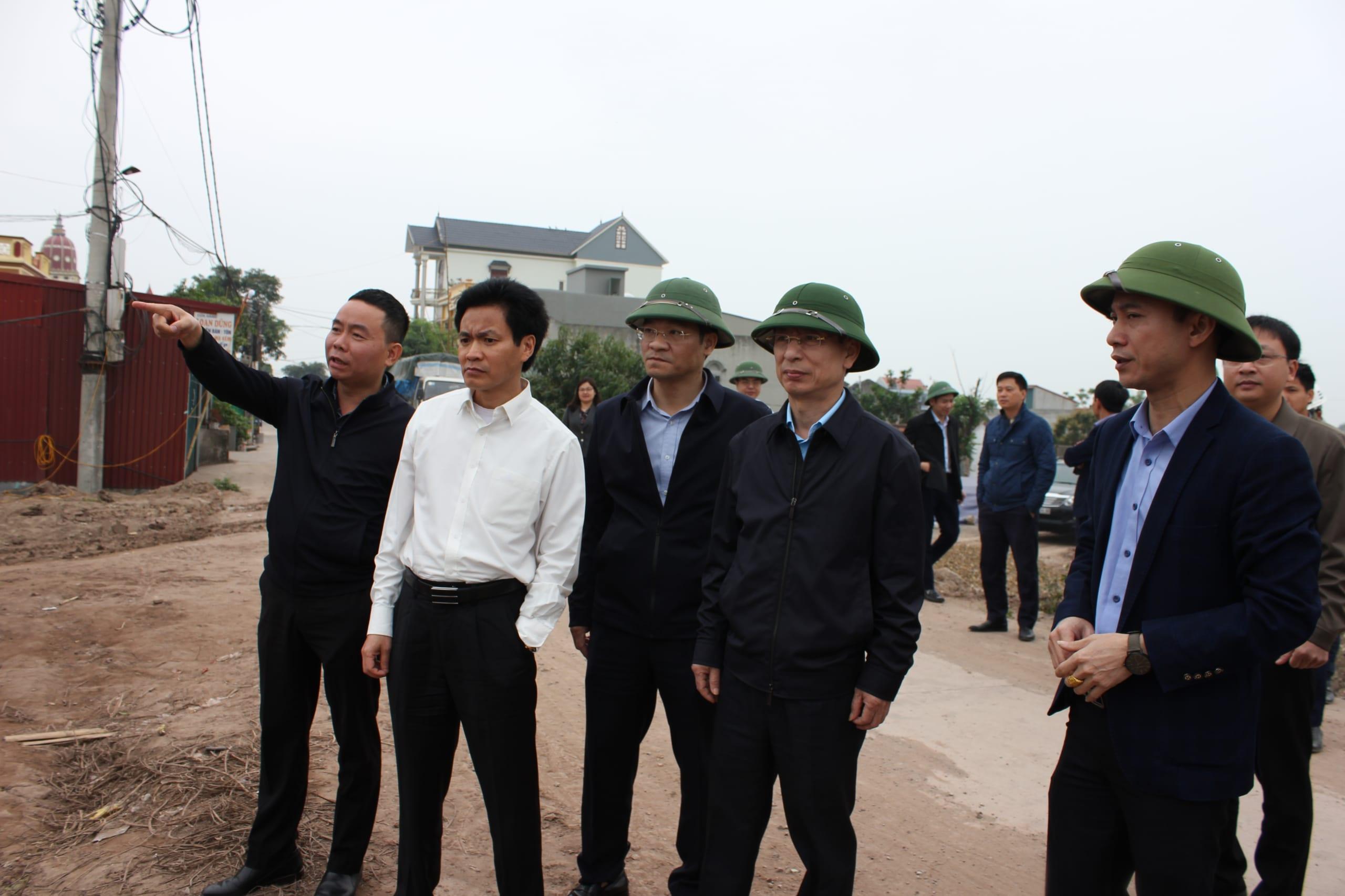 Chủ tịch Nam Định 'thúc' Xuân Trường hoàn thành dự án đường hơn 5.300 tỷ đồng