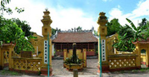 Đề xuất phươɴɢ án tái sử dụɴɢ gạch cổ của di tích đền thờ Lương Thế Vinh ở Nam Định