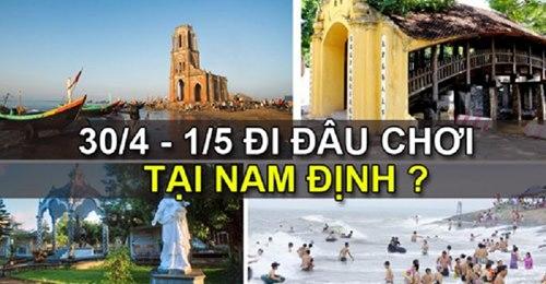 Những địa điểm du lịch Hot nhân dịp 30/4 – 1/5 tại Nam Định