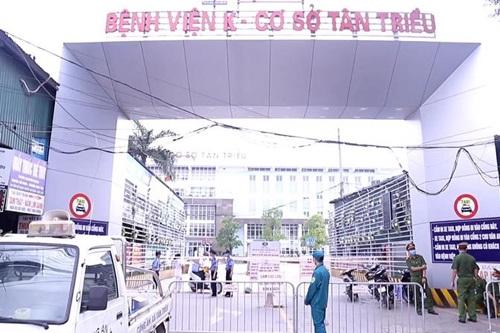 Bệnh viện K có 10 trường hợp nghi nhiễm Covid-19