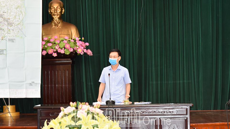 Nam Định : Quyết liệt triển khai các biện pháp phòng, chống dịch COVID-19