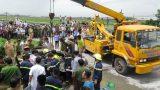 Nam Định: Ô tô con bị xe tải đè nát, 1 người tử vong