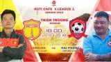 TRỰC TIẾP | Nam Định vs Hải Phòng | VÒNG 3 NUTI CAFE V LEAGUE 2018
