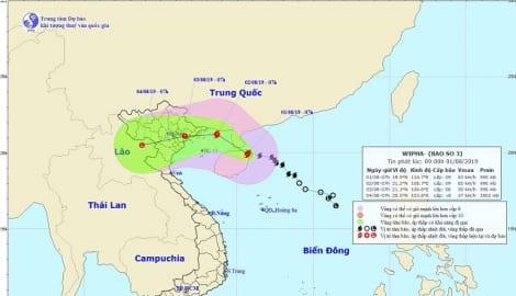 Các tỉnh cấm biển, di dời dân, hoãn cuộc họp không cần thiết để ứng phó bão số 3