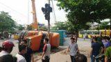 Nam Định: Đã xác định nguyên nhân vụ container đè bẹp ôtô con khiến 2 người chết
