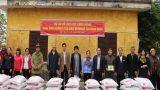 Hỗ trợ nông dân Nam Định chịu ảnh hưởng của cơn bão Mirinae