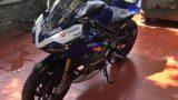 """Môtô Yamaha R3 độ đồ chơi """"khủng"""" tại thành Nam"""
