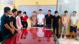 Bắt giữ 13 nam nữ thanh niên tụ tập sử dụng ma túy trong quán karaoke ở Nam Định