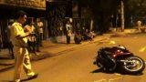 Nam Định: Nam thanh niên đi xe SH văng xa 20 m, tử vong tại chỗ