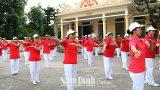 Phong trào thể dục thể thao của Hội Người cao tuổi huyện Mỹ Lộc