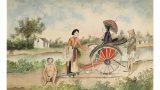 Bộ tranh lạ về đời sống ở Nam Định cuối thế kỷ 19